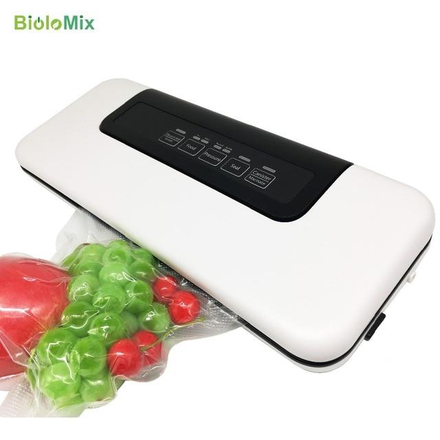 Conditionneur alimentaire domestique, 220 V/110 V, scellé sous vide, emballage sous vide pour Machine, aide à emballer sous vide, sacs en 10 pièces