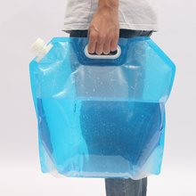 Safurance Outdoor 10L Collapsible Camping Emergency Survival Water Storage Carrier Bag Supply Emergency Kit Safety