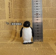 mini cute simulation penguin toy polyethylene & furs small penguin doll gift about 4.5×4.5×7.5cm