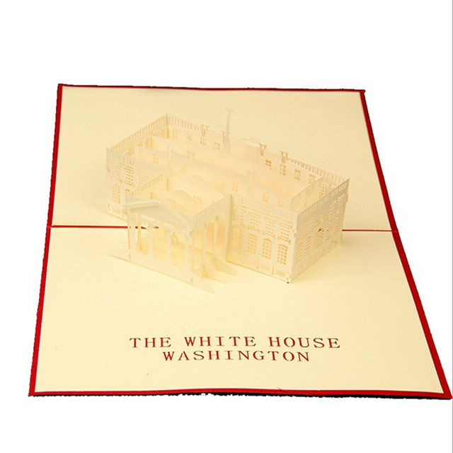 10 pieceslotwhite house handmade 3d laser cut pop up krigami 10 pieceslotwhite house handmade 3d laser cut pop up krigami greeting colourmoves