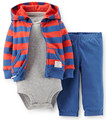 . Original 2017 Nova roupa do bebê recém-nascido, outono, roupas de inverno crianças das camisolas com capuz + camisa + calça bebê recém-nascido
