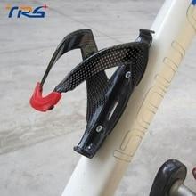 Ciclismo Bicicleta Carbon Bottle Cage Holder Bastidor Ligero Durable Esencial Portabidones Carbono Titular de la Botella