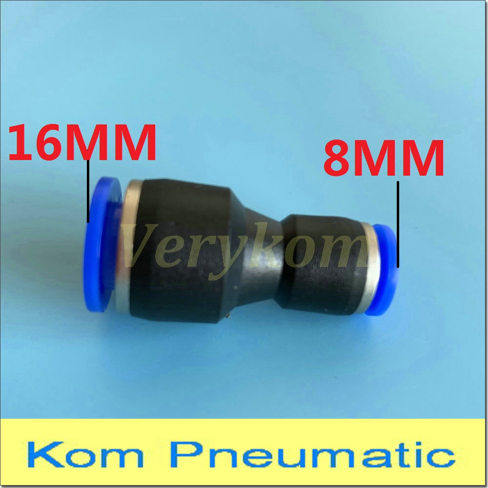 20x PC4-M10 Straight Pneumatic Fitting Push to Connect /& PC4-M6 Quick Fittings