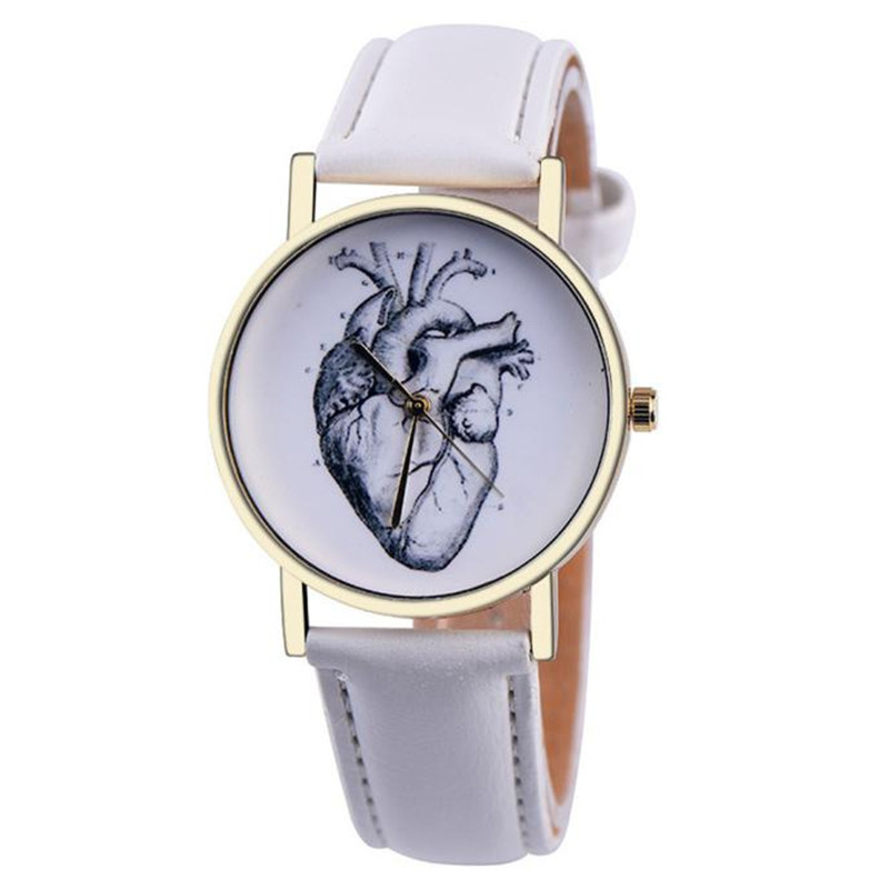 Couple Watch Unisex Men Women Watch Leather Band Analog Quartz Vogue Wrist Watch Brand New High Quality Luxury Free Shipping A60