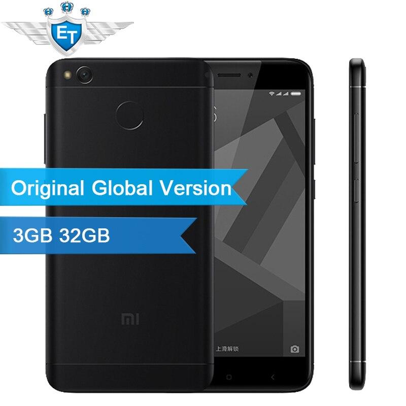 "Цена за Глобальный версия xiaomi redmi 4 х 4 х pro смартфон 3 ГБ 32 ГБ 5.0 ""Экран HD LTE Snapdragon 435 Окта основные 4100 мАч 13.0MP LDD ОТА"