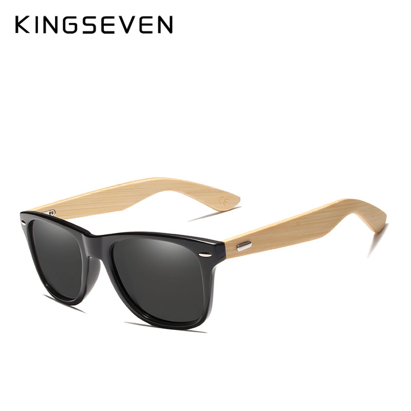 2018 Nuevas gafas de sol polarizadas de bambú para hombre Gafas de - Accesorios para la ropa - foto 1