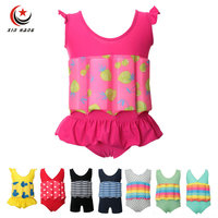 Girls Baby Buoyancy Swimwear Kids Swim Float Suits Learn To Swim Tools Boys Surfing Swimming Life