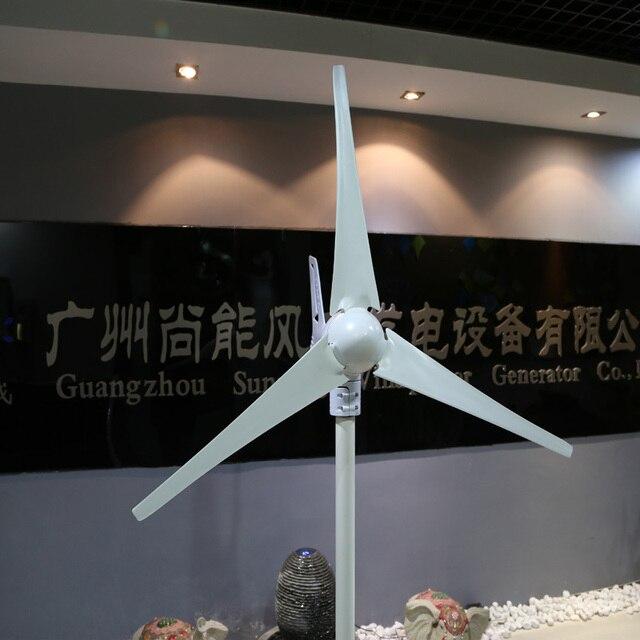 400W  12/24V renewable energy small wind turbine generator