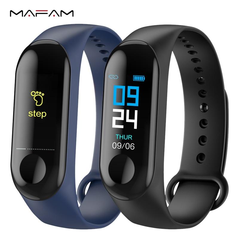 MAFAM M3 Smart Band Blutdruck Fitness Tracker Pedometer Herz Rate Monitor Smart Armband Armband Für IOS Android Telefon