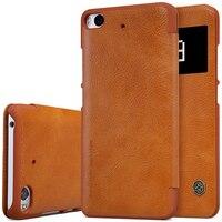 Nillkin Vintage Qin Flip PU Leather Hard Plastic Back Cover 5 15 Inch For Xiaomi Mi5s