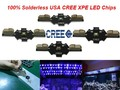 10pcs x Solderless 1w 3w Cree XPE Warm White 2700-3200k Cool White 6000-6500k Red Green Blue High Power Led Chips