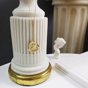 Image 1 - 925 sterling silber kostenloser eule gold halskette einfache mode design persönlichkeit eule anhänger halskette für frauen 2018 edlen schmuck