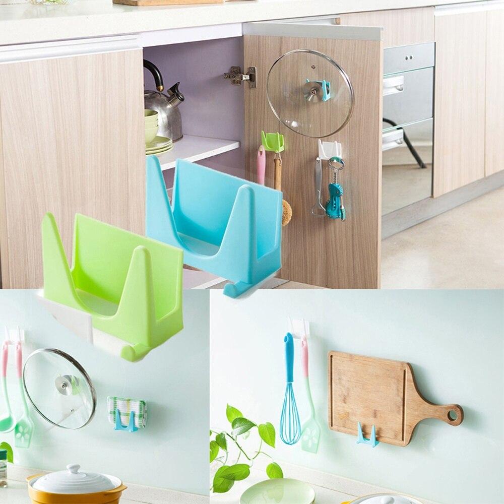 1 pcs Hot sale Plastic Rack Pot Cover Storage Shelf Kitchen ...