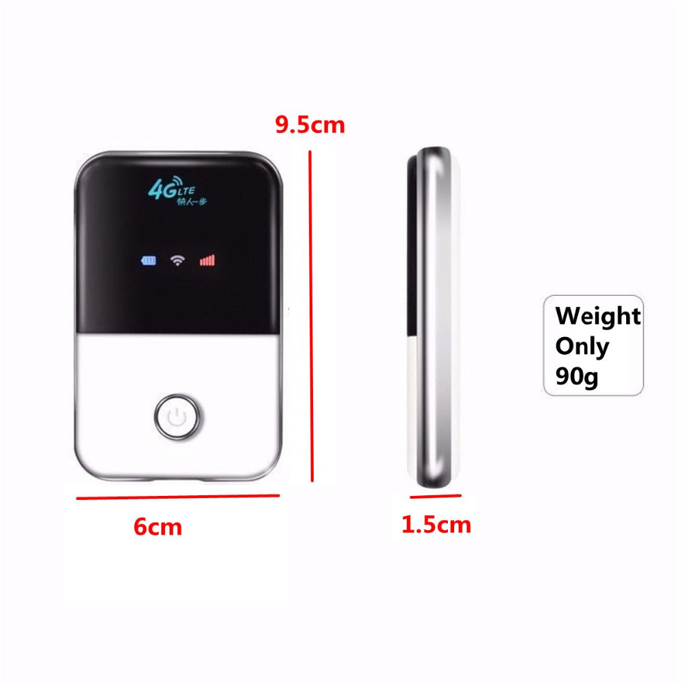 4G Lte Pocket Wifi Router Car Mobile Wifi Hotspot Wireless Broadband Mifi Unlocked Modem Extender Repeater With Sim Card Slot unlocked huawei e5830 original 7 2m 3g hsdpa wcdma gsm wireless router sim card pocket wifi broadband modem mobile hotspot