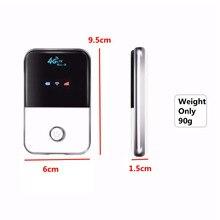 4 г Lte карман Wi-Fi маршрутизатор автомобильный мобильной точки доступа Wi-Fi Беспроводной широкополосный МИФИ разблокирована модем Extender повторитель с sim-карты слот