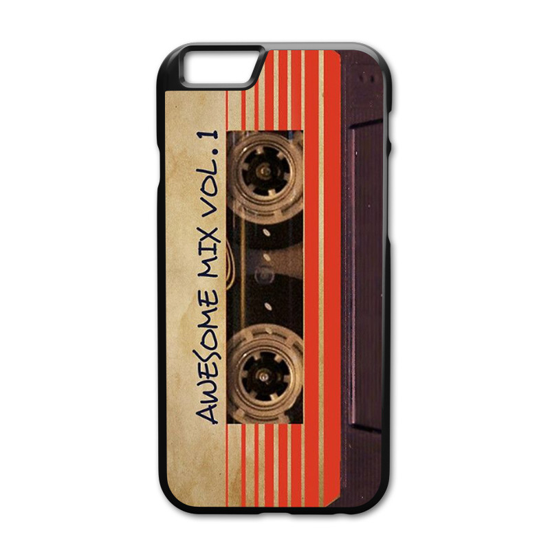 Awesome Mix Vol 1 Cover Case for iPhone 5 5S 6 6S 7 8 Plus X