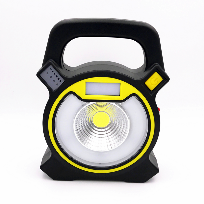 SMTVEK New COB Outdoor Hand light Super Bright Handle work LED Flashlight Power Bank&Rechargeable Tent camping lamp Use 18650 the new super bright led built dimmable downlight cob 3w 5w mr16 gu10 led spot light led decoration ceiling lamp ac220 led lamp