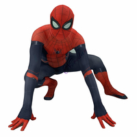 Movie High Quality Spiderman Far From Home Peter Parker Costume Spider Man Cosplay Zentai Superhero Bodysuit Suit Jumpsuits