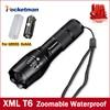High Bright E17 3800 Lumens CREE XM L T6 LED Flashlight 5 Mode Zoomable Linternas LED