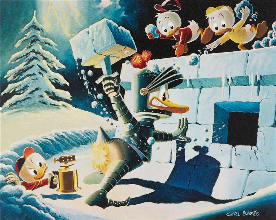 Scrooge McDuck HD Canvas Print Painting Artwork Modern Home Wall Decor Painting Canvas Art HD Picture on Canvas Prints #12