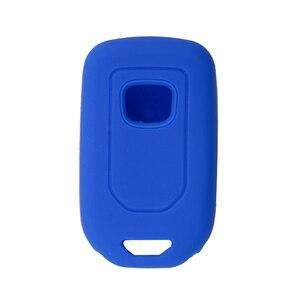 Image 5 - Yeni Stil silikon araba anahtarı kapağı Durum Için Honda Accord 9 Crider CRV HRV 3 Düğmeler Akıllı Araba Anahtarı koruyucu kabuk Aksesuarları