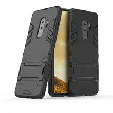 Case For Samsung S9 Galaxy Plus PC TPU Mobile Phone Protector Armor Stand Back Cover Cases S9+
