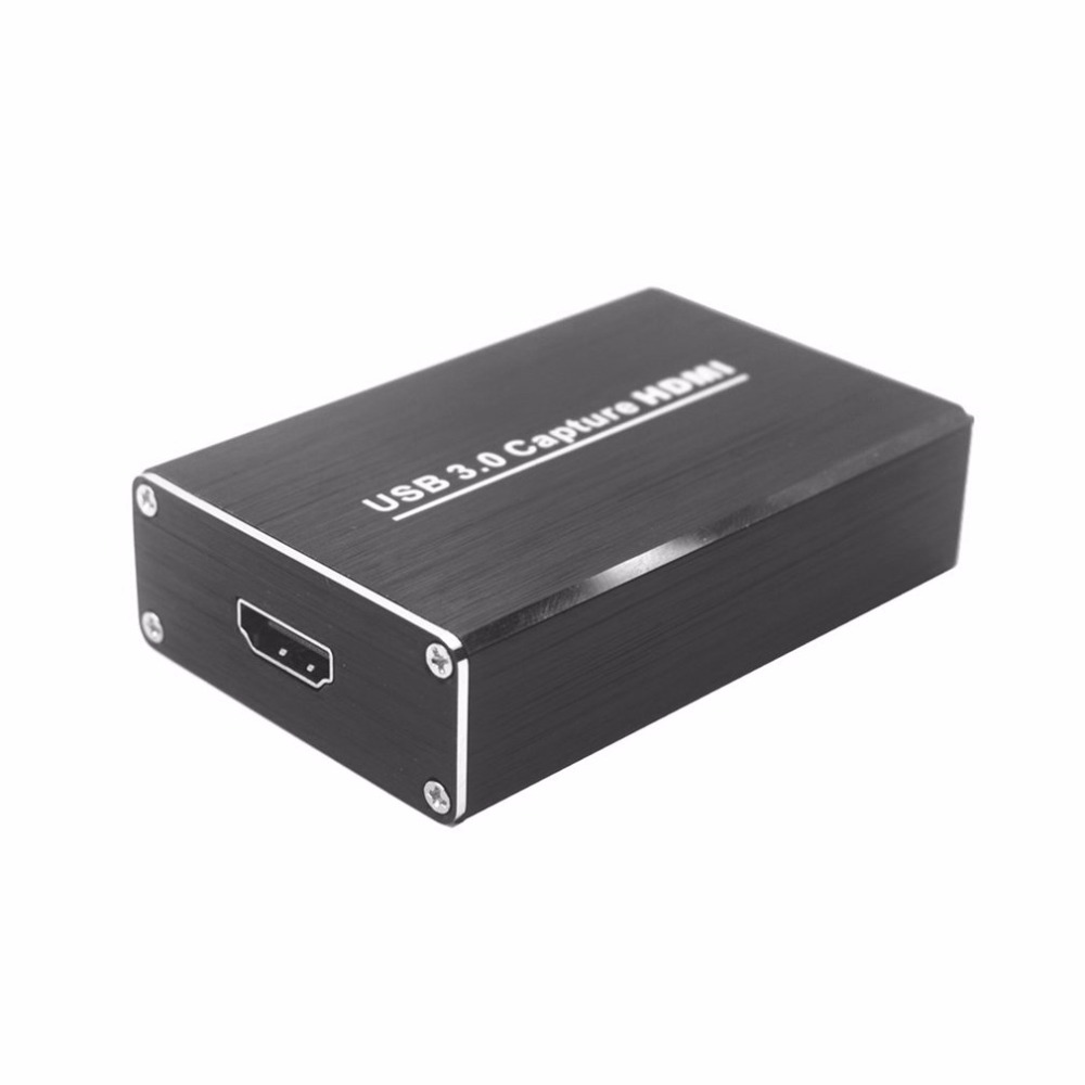 USB3.0 Capture HDMI To USB Capture Video Capture Dongle HD Phone Games Meeting Video Capture Box Free Drive For OBS POTPAYER