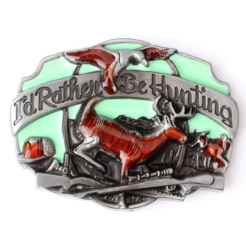 The Eagle Deer Animal Belt Buckle