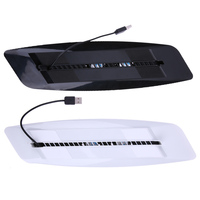 USB Hub Gaming Cooler Dual Controller Charging Dock Console Stand Cooling Fan For PS4 Gaming Console