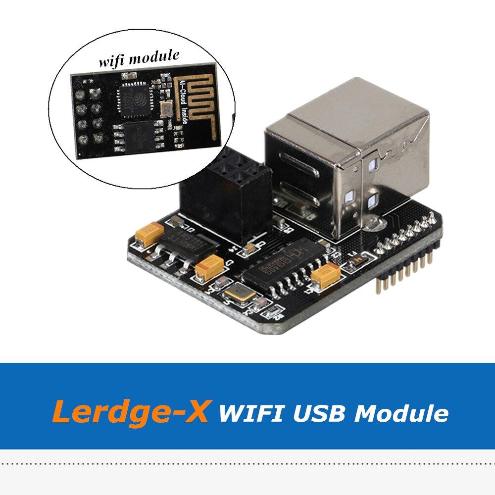 1 Pc Lerdge 3d Drucker Teile Wifi Usb Expansion Modul Für Online Druck Für Lerdge-x Lerdge-k 3d Druck Mainboard