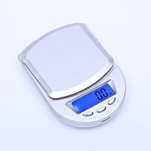 1000g x 0.1g Mini Electronic Digital Scales Metal Kitchen Pocket Case Household Bake Balance Weight Scale Libra Dropship