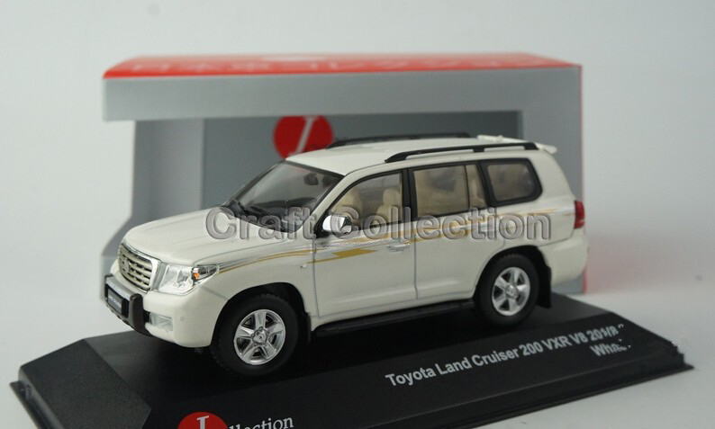 ФОТО 1:43 TOYOTA LAND CRUISER 200 VXR V8 LC200 2012 Diecast Model Cars Jeep SUV 3 Colors