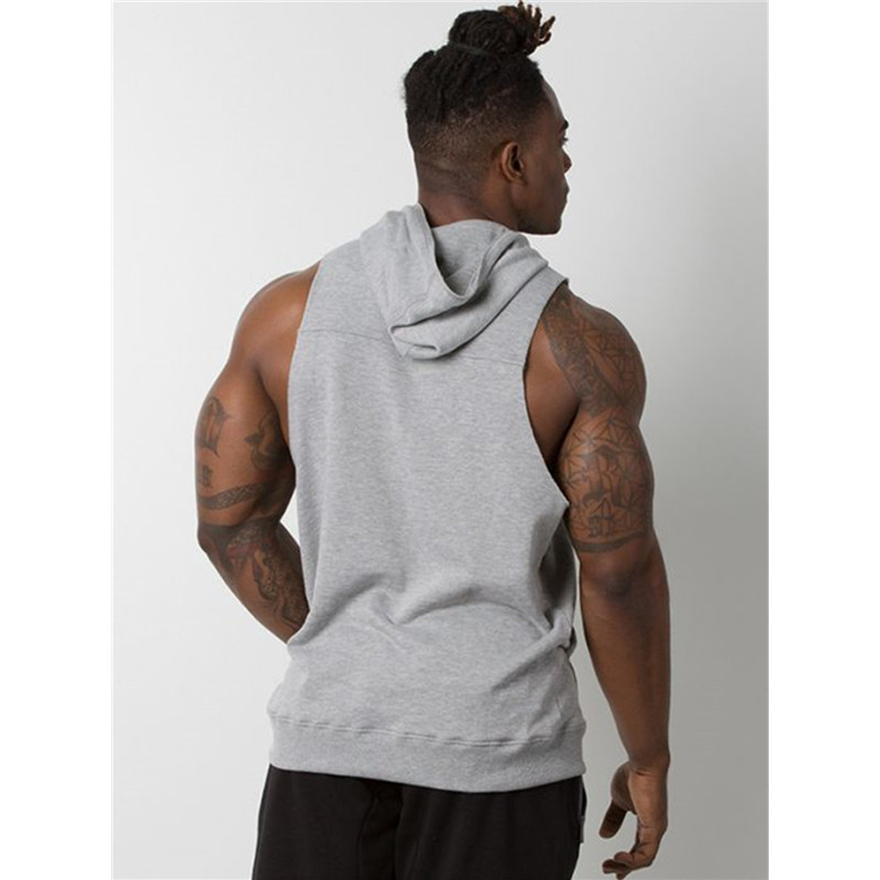 Tank Top Men Stringer Workout Vest gym (8)
