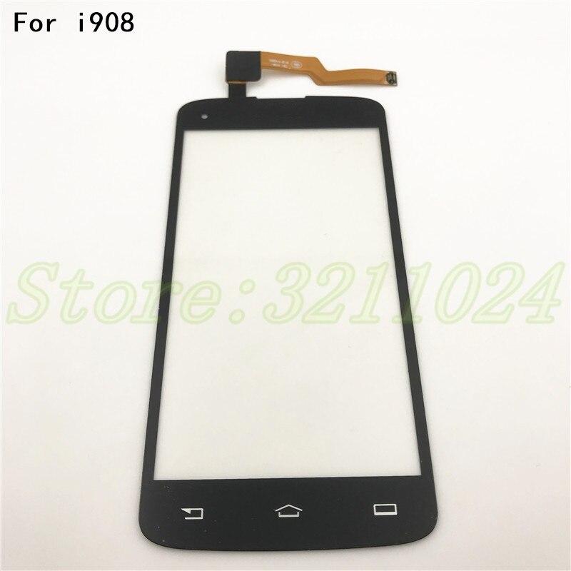 5.0 ''D'origine Noir Pour Philips i908 Écran Tactile Écran Tactile TP Pour Philips i908 téléphone Intelligent + Outils