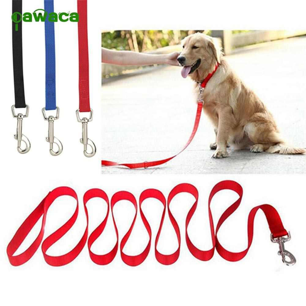 3M/5M/8M/10M/15M/20M Collars for Big Dogs Polypropylene Rope, Pet Long Lead ,Retractable Rope Pet Training Walking Leashes