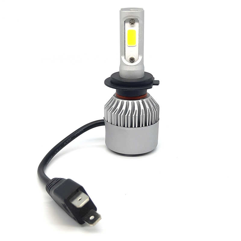 H7 LED H4 CAR light headlight lamp H11 H3 H1 High Power H27 9005 9006 880 881 long life universal led play and plug 6000K 2 PCS