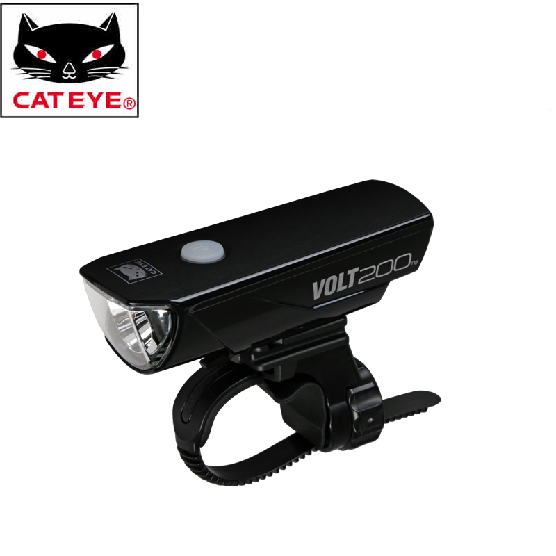 Cateye Professional Cycling Riding 3 Modes 200 Lumens 1000mah