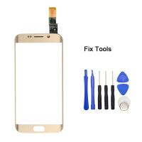 1Pcs Original For Samsung Galaxy S6 Edge G925F G925 Front Glass Touch Screen Digitizer Lovain Outer