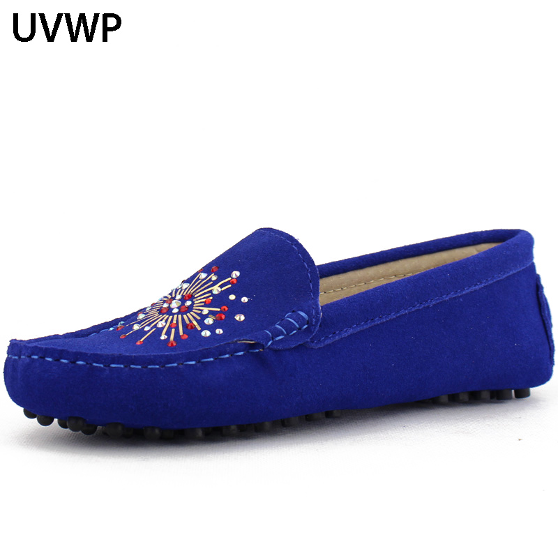 Female Flats Footwear Women Shoes Lady Loafers Non-Slip Hot-Sale Woman Fashion 100%Genuine-Leather