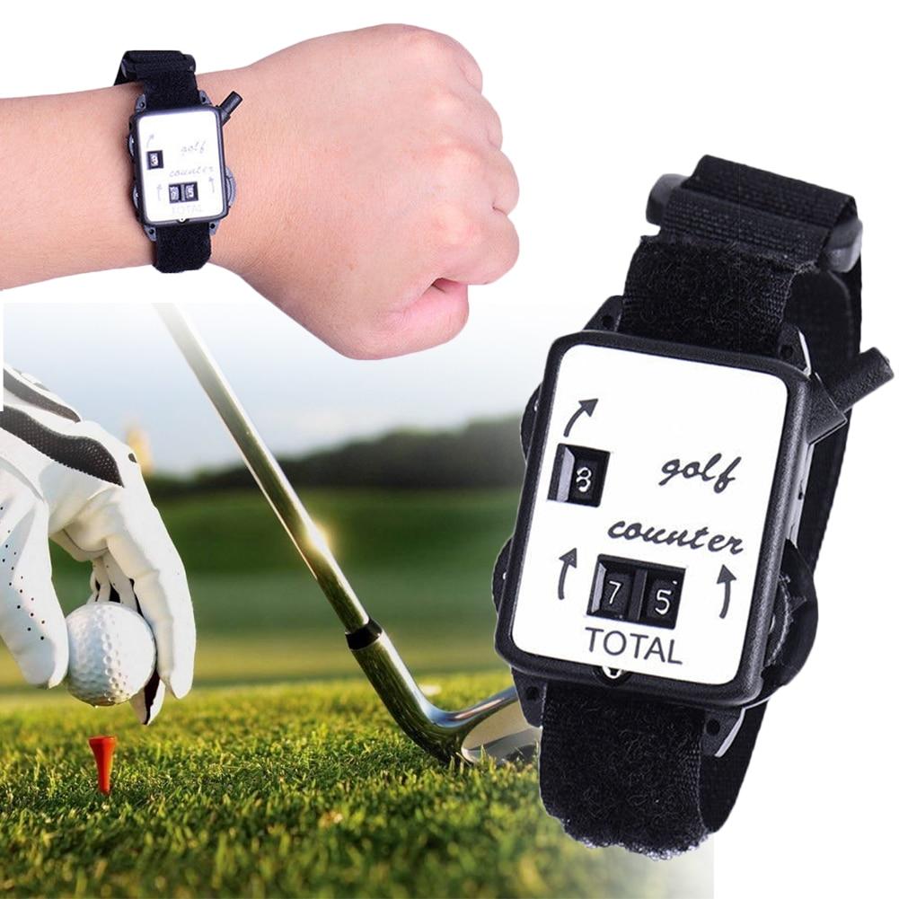 Golf Stroke Wristband Mechanical Outdoor Shot Portable Putt Durable Score Keeper Sport Club Mini Watch Type Counter