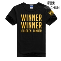 2017 COOL New World Hot FPS Game Player Unknown S Battlegrounds T Shirts PUBG Winner Winner