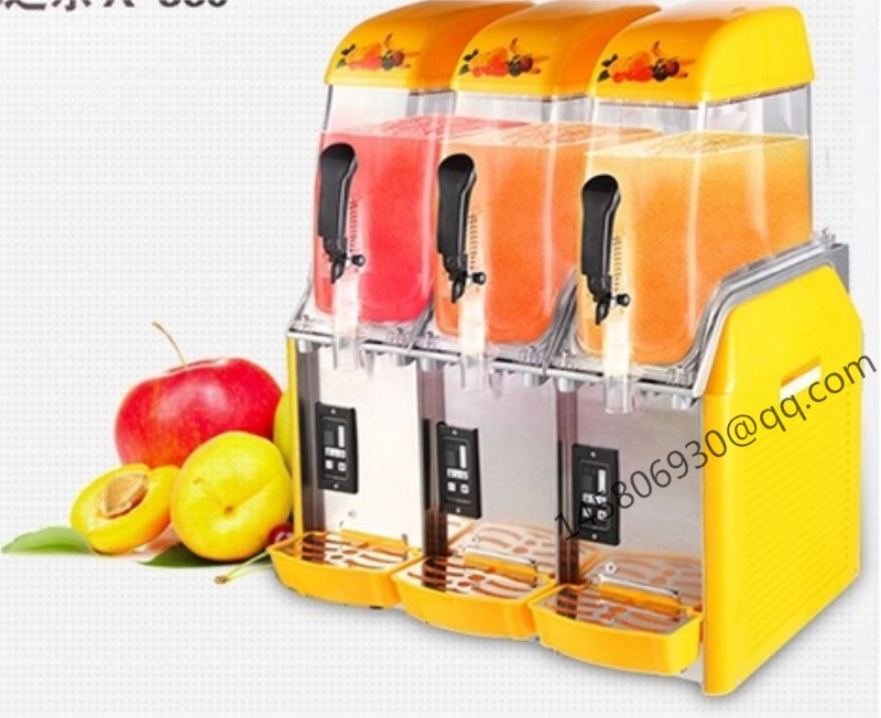 36L The Best Price Commercial Frozen Drink Slush Machine Granita Machine 3 Bowl Slush Machine цена и фото