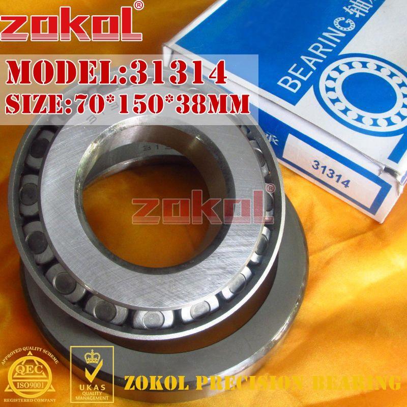 ZOKOL bearing 31314 27314E Tapered Roller Bearing 70*150*38mm цены