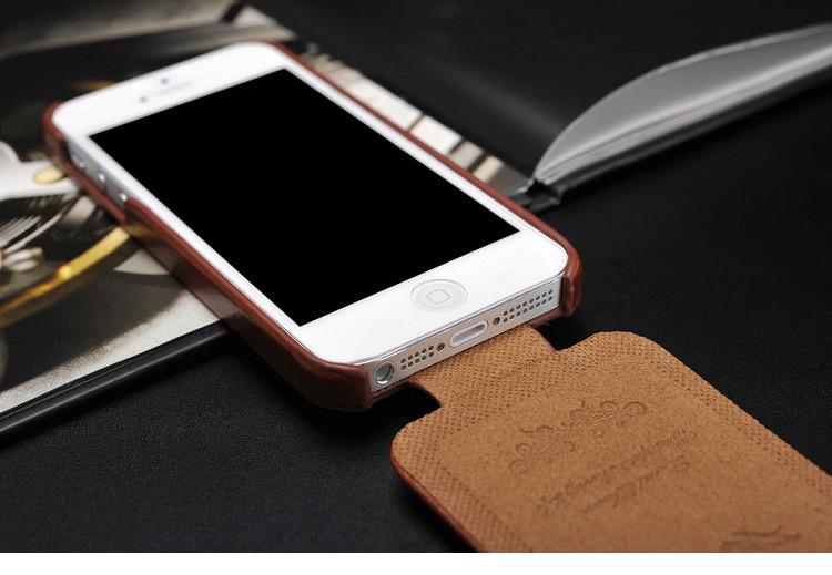 5S flip case dla iphone 5s 5 se pu skóra tomkas marki luksusowe phone tylna pokrywa coque dla apple iphone5 przypadki telefon 5 s torba 8