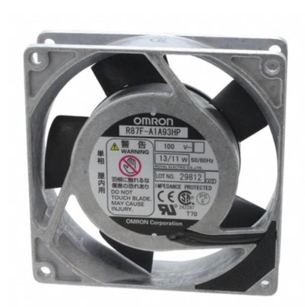 OMRON R87F-A1A93HP AC100V 92 * 92 * 25mm aluminum frame AC Fan 92 92 38 100v 220v 5 3w af0938b00hl ac fan for wide voltage inverter fan