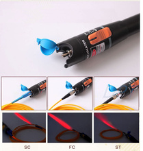 10 mW Görsel Hata Bulucu Fiber Optik Kablo Test Cihazı Lazer Kaynağı 10 KM Aralığı, VFL10C