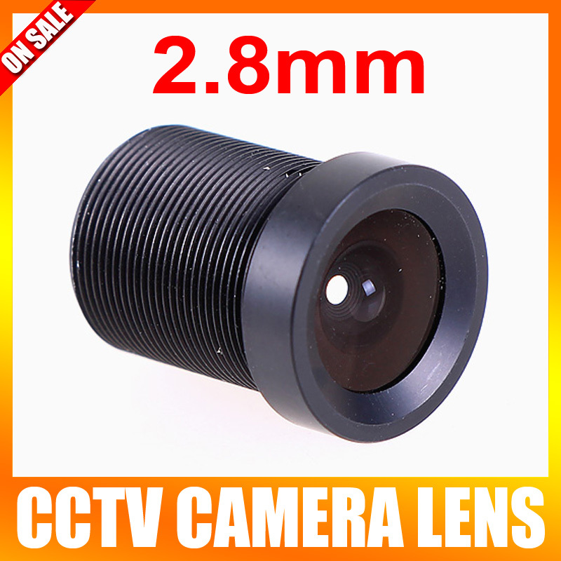 Board 2.8mm Lens 120 Degree CCTV Lens Wide Angle Security Lens For CCTV Security Camera(China (Mainland))