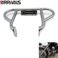 Motorcycle Chrome Crash Bar Engine Guard Protection For Yamaha Virago 250 XV 250 1998 2007 1999 2000 2001 2002 2003 2004