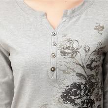 T-Shirt Women Camisas Femininas V-Neck