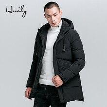 HMILY Men Cotton Coat Winter Jacket Mens Fashion Jackets Thick Parkas New arrival Warm Overcoats